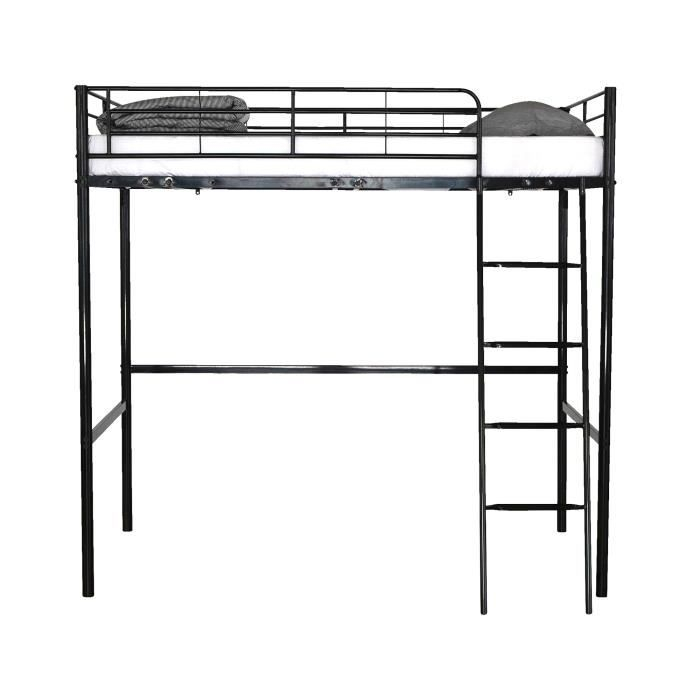 lit mezzanine enfant metal my blog. Black Bedroom Furniture Sets. Home Design Ideas