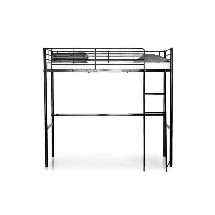 lit en acier sommier metal 90 sur 190 achat vente lit en acier sommier metal 90 sur 190 pas. Black Bedroom Furniture Sets. Home Design Ideas