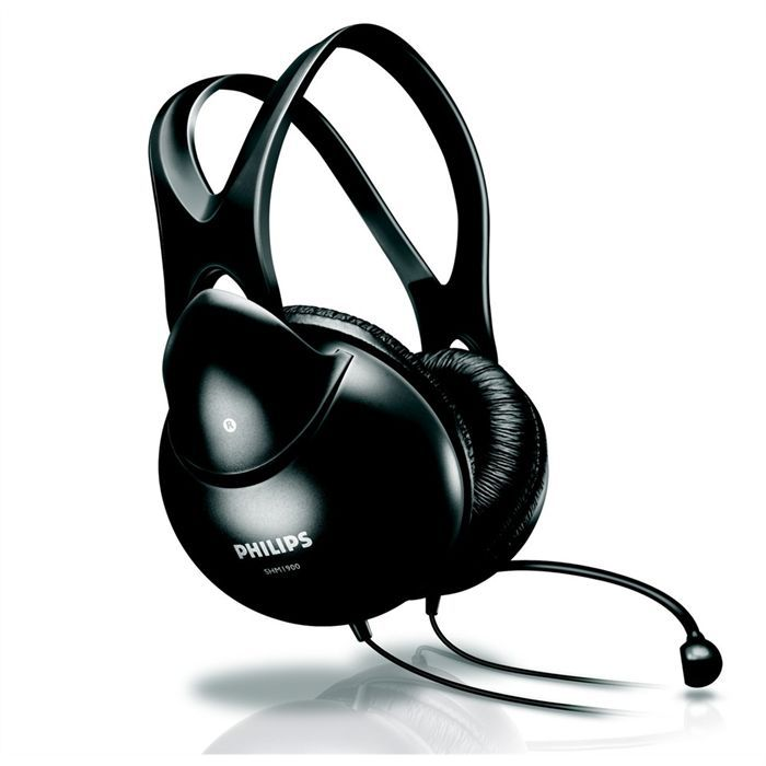 philips casque micro st r o pour pc shm1900 prix pas cher cdiscount. Black Bedroom Furniture Sets. Home Design Ideas