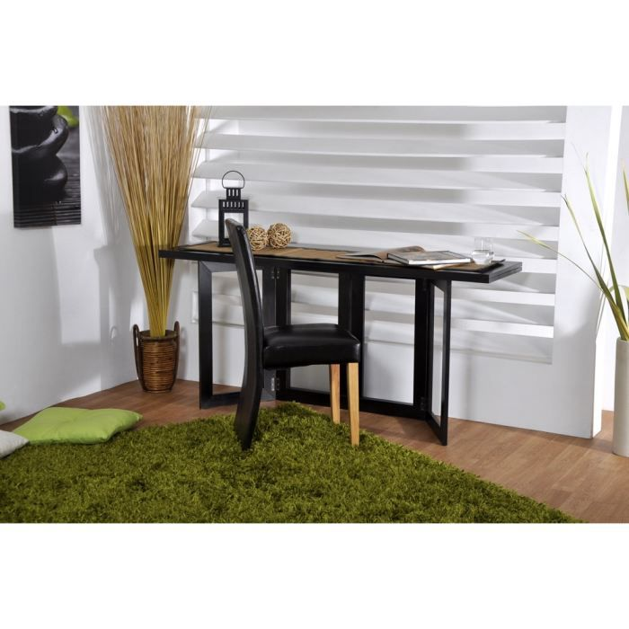 Spacio console extensible weng 160x42 5 85 cm achat - Table d appoint console ...