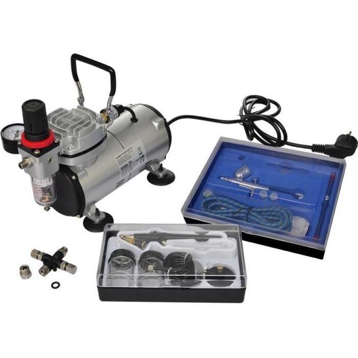 COMPRESSEUR Kit compresseur aérographe avec 2 pistolets