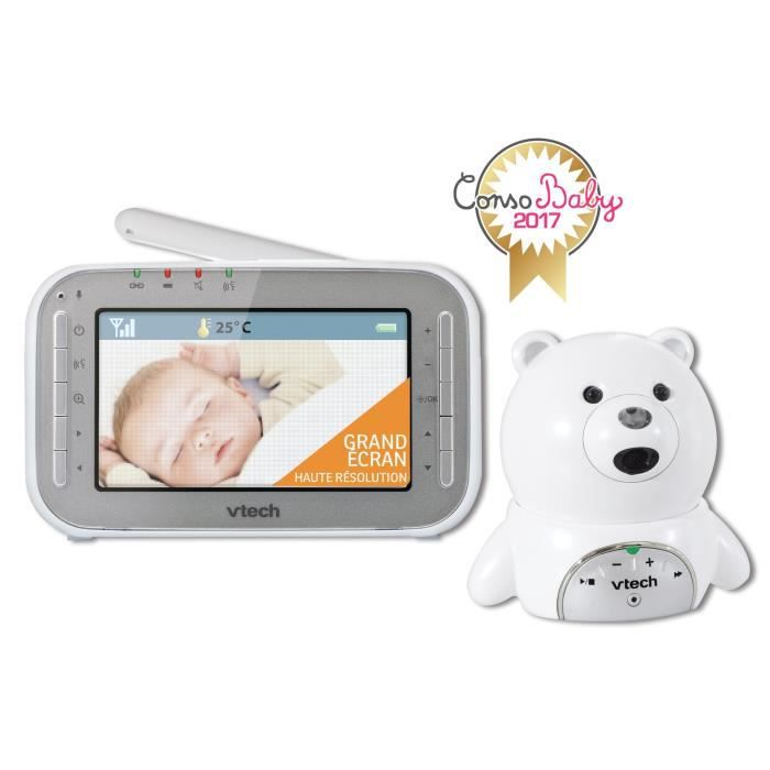 Photo de vtech-babyphone-video-xl-ourson-bm4200
