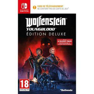 JEU NINTENDO SWITCH Wolfenstein II: Youngblood Deluxe Edition Jeu Swit