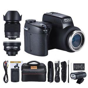 APPAREIL PHOTO RÉFLEX Polo Sharpshots FHD Caméra Numérique AF 33MP 1080P