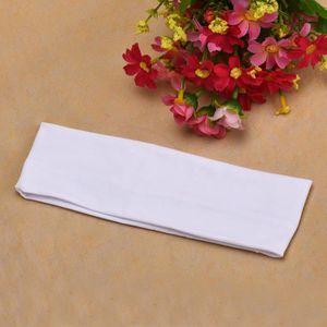 PACK APPAREIL RÉFLEX Bande élastique pour cheveux turban yoga blanc