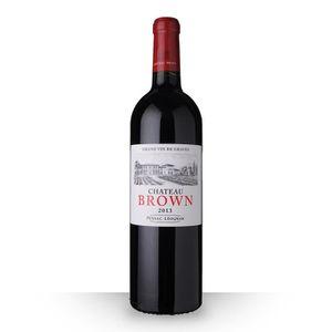 VIN ROUGE Château Brown 2013 Rouge 75cl AOC Pessac-Léognan -