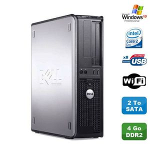 UNITÉ CENTRALE  PC DELL Optiplex 330 DT Intel Core 2 Duo E4300 1.8