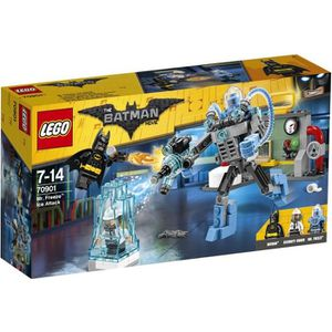 ASSEMBLAGE CONSTRUCTION LEGO® 70901 Batman Movie - L'Attaque glacée de Mr.