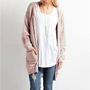 PULL Dresstells Pull Casual Femmes Rétro Manches Longue