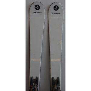 SKI Skis parabolique Haut de Gamme LACROIX carbon Mach