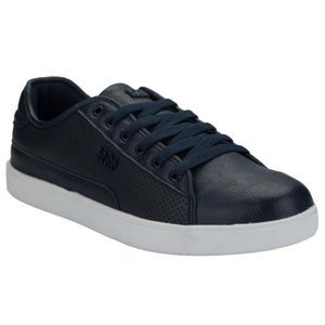 BASKET Baskets Beck and Hersey Remis pour homme en bleu m