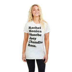 T-SHIRT Friends T-Shirt Série TV à Manches Courtes Pour Fe