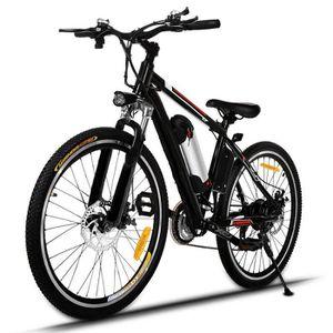 VÉLO ASSISTANCE ÉLEC Vélo électrique de montagne 26'' -36V/12AH batteri