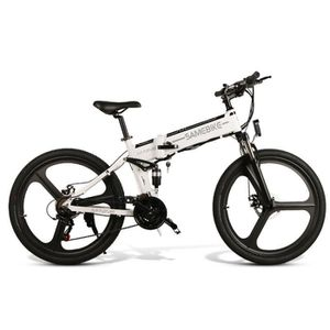 VÉLO ASSISTANCE ÉLEC SAMEBIKE LO26 Vélo Électrique Pliable Ville E-vélo