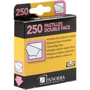 ALBUM - ALBUM PHOTO PANODIA Boîte de 250 pastilles adhésives double-fa