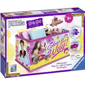 PUZZLE SOY LUNA GIRLY GIRL Puzzle 3D Boîte de Rangement 2