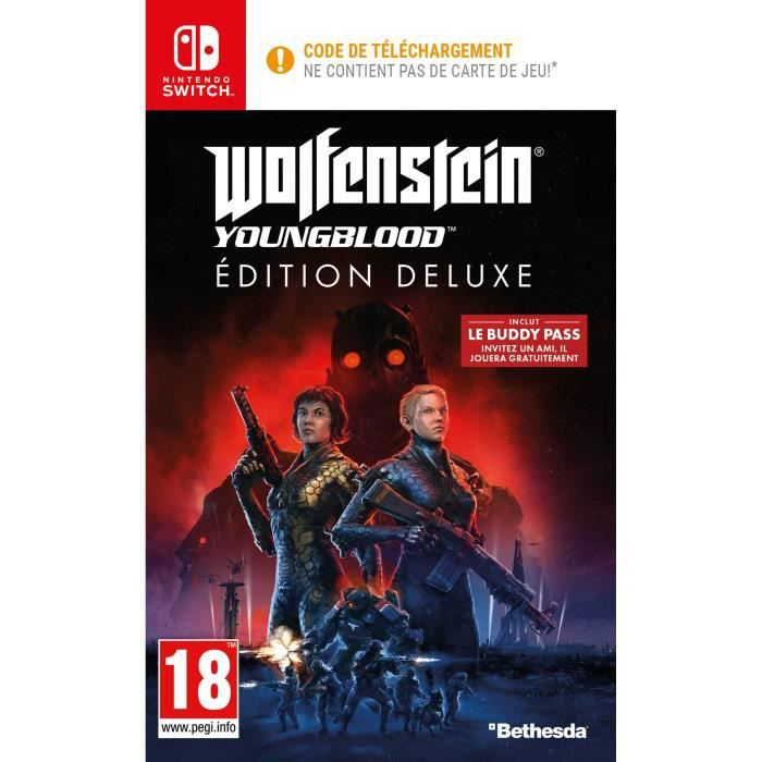 Wolfenstein II: Youngblood Deluxe Edition Jeu Switch à télécharger