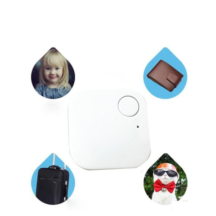 Smart Tag Finder Traceur Bluetooth Enfant pour animaux de compagnie GPS Locator Alarme Portefeuille Key Tracker
