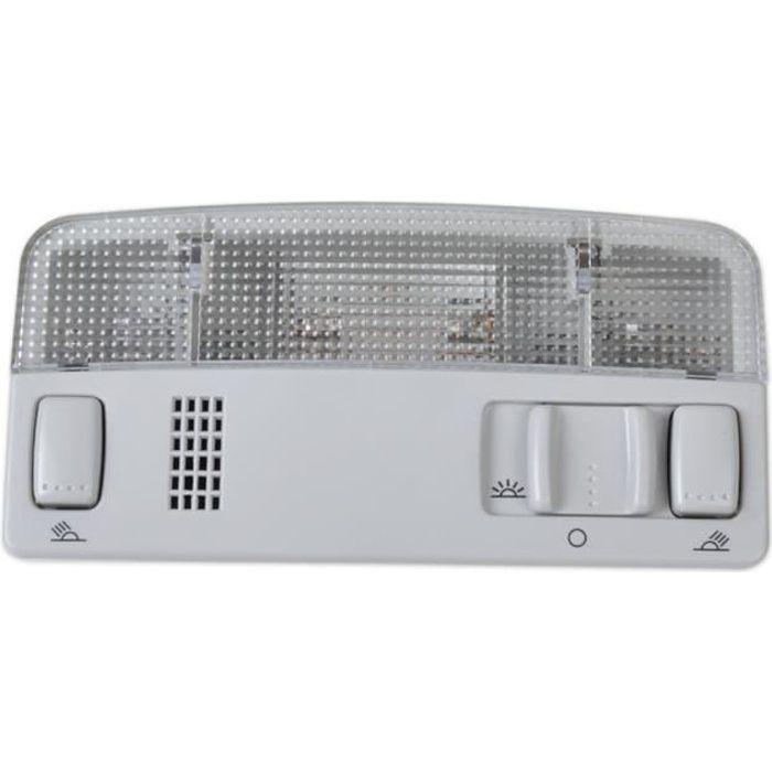 Lampe de lecture à dôme intérieur gris pour VW Golf Jetta MK4 Bora Passat B5 ITD 947 105