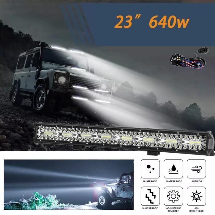 23 pouces lumineuses de travail LED pour tracteur tout terrain pour 4x4 ATV barre de LED camion tout terrain