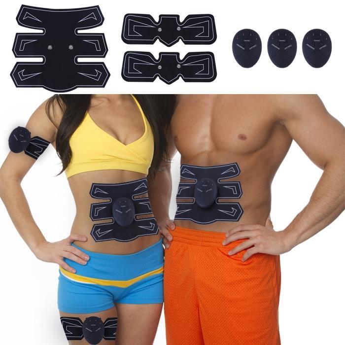 entraîneur de muscle abdominal autocollant de muscle de ventre ceinture de formation de formateur abdominal
