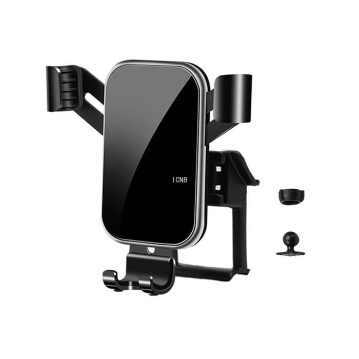 Supports voiture,Pour Toyota RAV4 2019 2020 XA50 téléphone portable GPS support accessoires - Type Black #B