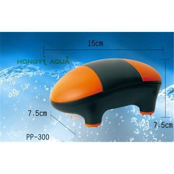 Aquarium,Atman pompe à oxygène pour aquarium 1 pièce aérateur,pompe à air ultra silencieuse,aquarium,pompe à - Type PP 300 - S