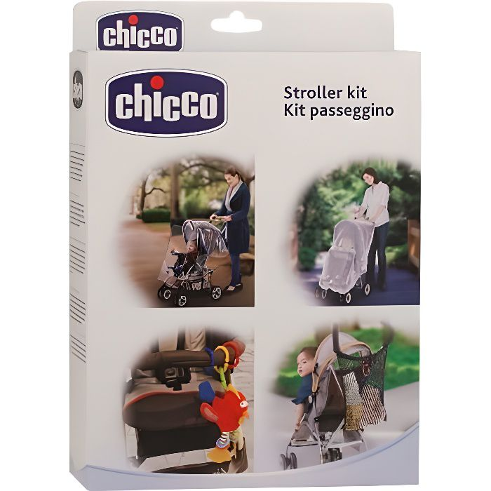 CHICCO Kit 4 Accessoires Universels Poussette