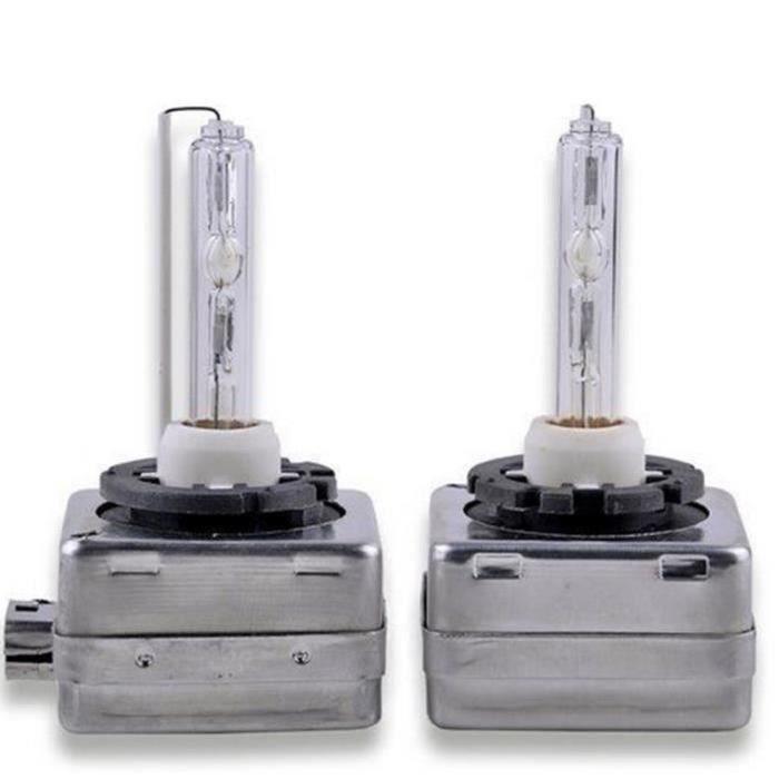2 Ampoules D1S 35W 12V Lampe Rechange Remplacement Feu XENON 8000K KIT HID pour Citroen Peugeot Suzuki Audi BMW