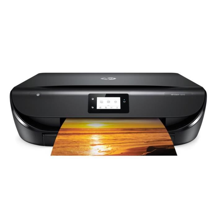 HP Imprimante tout-en-un Envy 5010 - Wi-Fi - Couleur