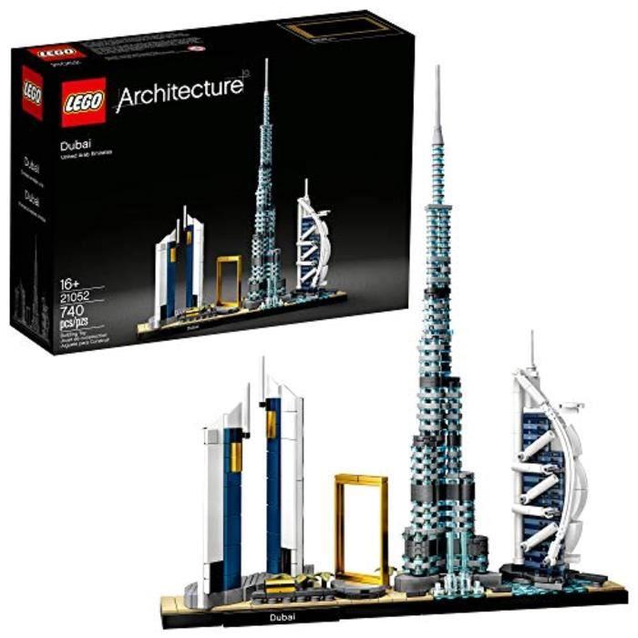Jeu D'Assemblage KPB23 Architecture Skylines: Kit de construction Dubai 2152, ensemble de construction d'architecture de collection