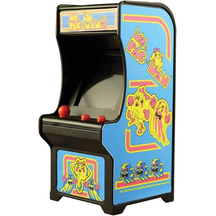 Ballon De Football Mme Pac-Man classique minuscule jeu d'arcade Taille Palm w - sons authentiques et Joystick ILM8F Taille-M