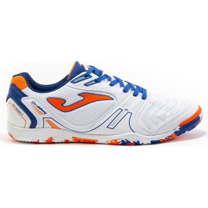 Chaussures de football Joma Dribling Indoor 2002 - blanc/bleu royal - 43,5
