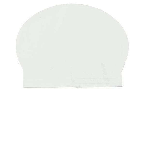Bonnet de bain natation piscine de couleur blanc