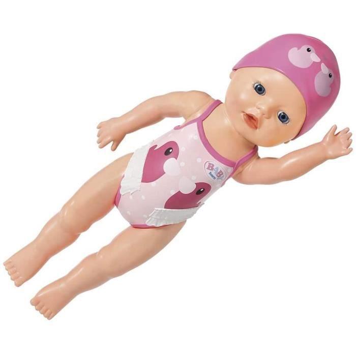 BABY born Mon premier bébé nageur Fille de 30cm