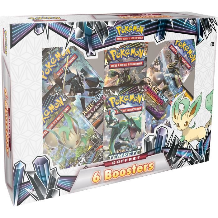 TRAMPOLINE POKEMON - Coffret Pokémon - 6 boosters  (60 cartes