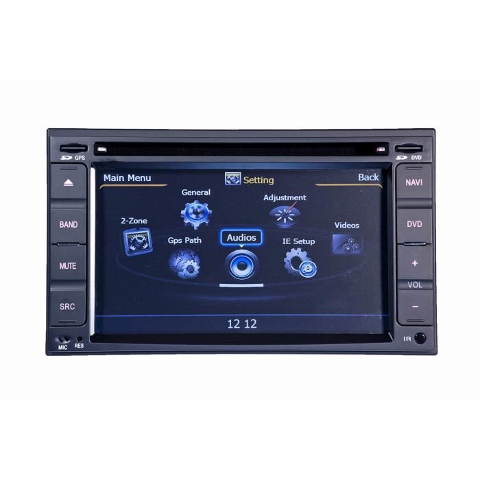 autoradio dvd gps navigation nissan cube micra note x trail qashqai pathfinder versa juke. Black Bedroom Furniture Sets. Home Design Ideas