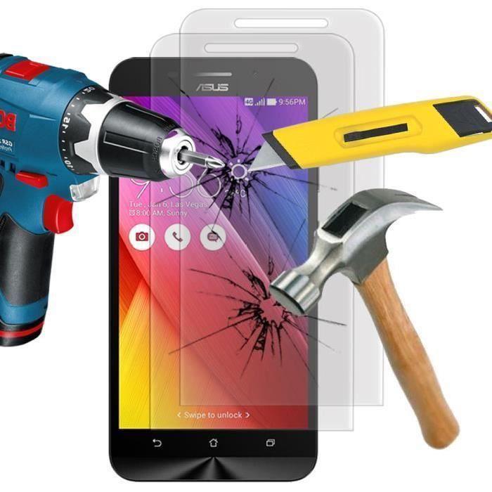 FILM PROTECT. TÉLÉPHONE Pour Asus Zenfone Max ZC550KL- ZC550KL (2016)- ZC5