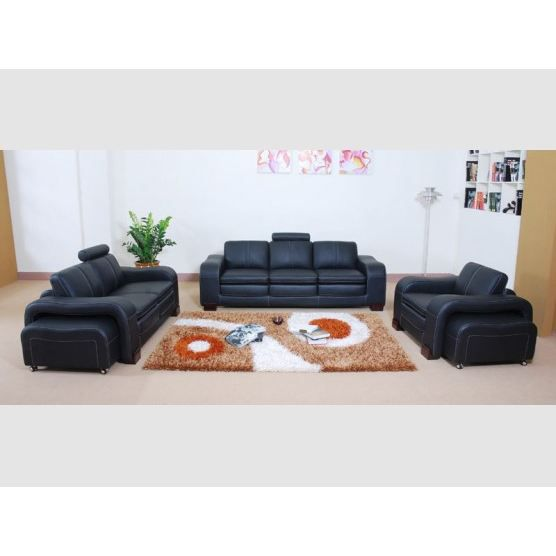 canap 3 places 2 places fauteuil murano cuir achat. Black Bedroom Furniture Sets. Home Design Ideas