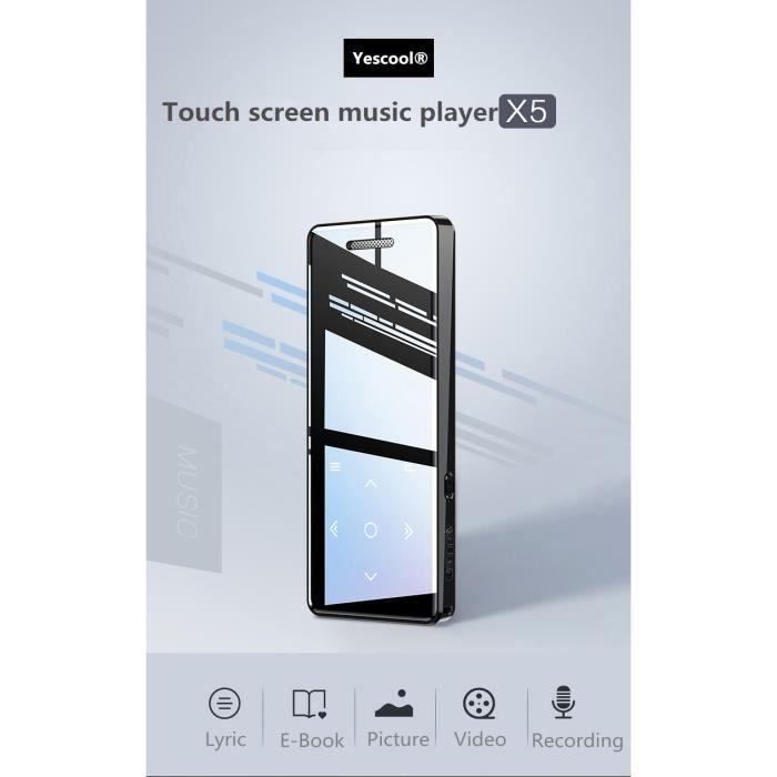 LECTEUR MP3  Lecteur MP3/MP4 bluetooth 4GO Baladeur Multi-fonc
