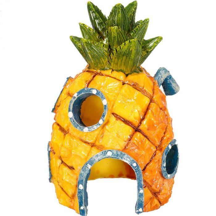 Decor artificielle ananas plastique décorative Fruit jaune ananas Faux 2019