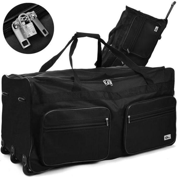 27 L Voyage Roulettes Bagage à main chariot petit vol sac de cabine valise Holdall