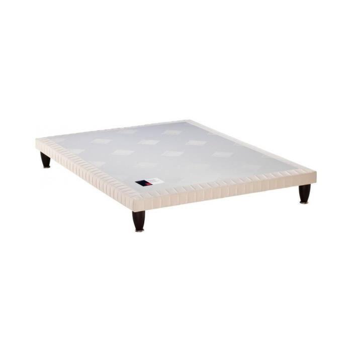 SOMMIER Sommier tapissier Epeda Extra-Plat 3 Zones Confort