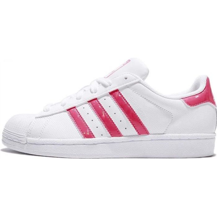 adidas superstar 80s metal toe Bordeaux enfant