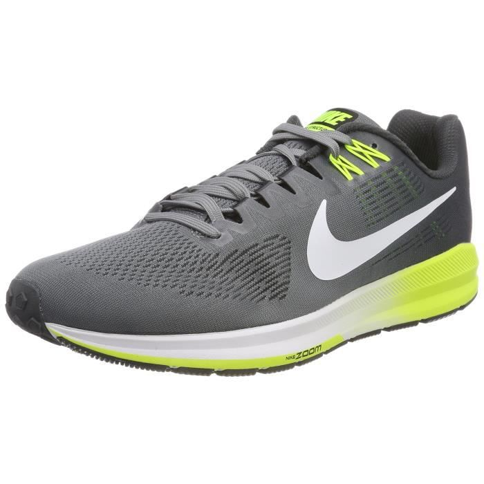 huge discount fb145 1a27a CHAUSSURES DE RUNNING Nike Men s Air Zoom Structure 21 Running Shoe Wide