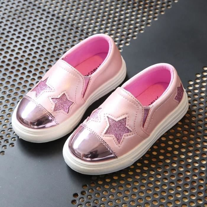3 Cuir 11 Antidérapante Superstar Baskets Fille Promenade Pu Sportive Enfant Chaussures Ans Fulozo® wiTkOPZXlu