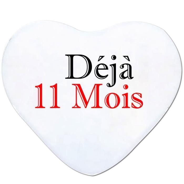 """Coussin /""""préféré/"""" cadeau st valentin Anniversaire Noël partenaires"""