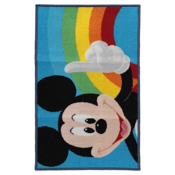 tapis antid rapant mickey achat vente tapis cdiscount. Black Bedroom Furniture Sets. Home Design Ideas