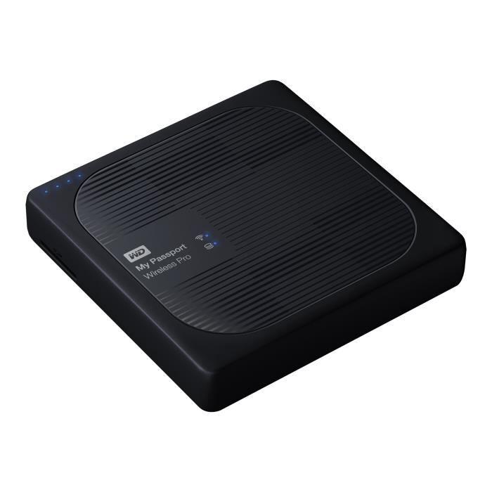 DISQUE DUR EXTERNE WESTERN DIGITAL My Passport Wireless Pro - 4To - N