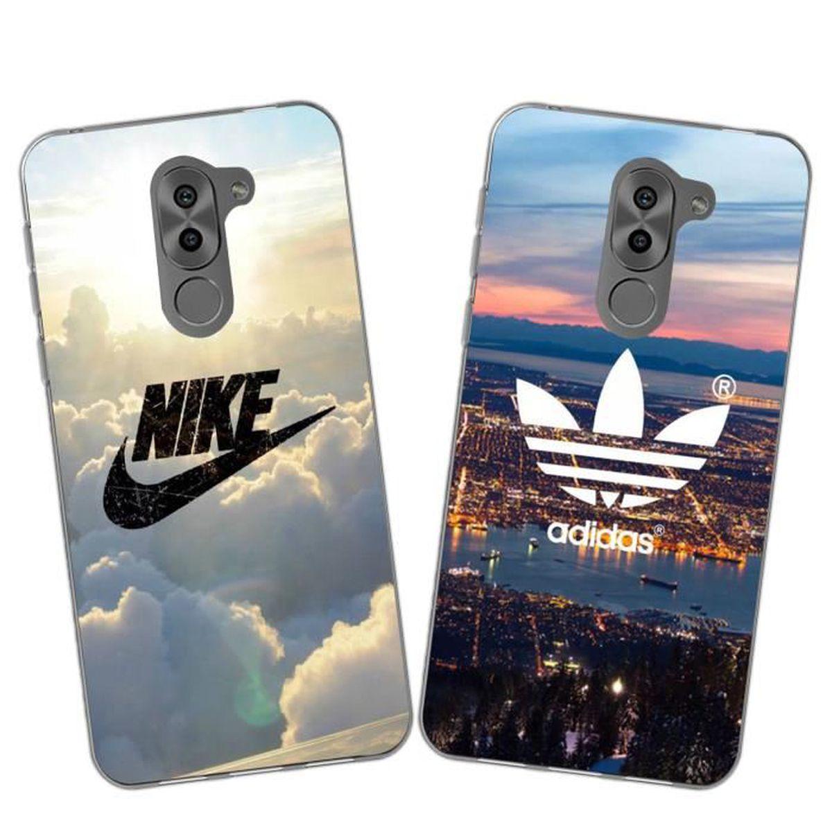 2 X Coque Huawei Honor 6X,Nike et Adidas Doux Souple TPU Housse ...